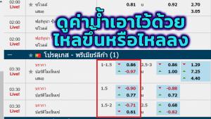 ราคาบอลไหลแรง เว็บไทย